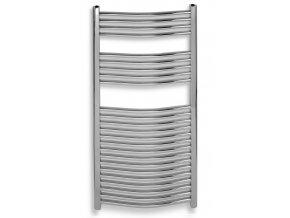 NOVA OT 600/1600.0 koupelnový žebřík 60/160 cm chrom, prohnutý