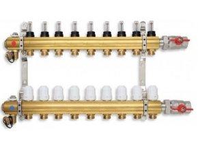 PODL rozdělovač podlahového topení pro 9 okruhů